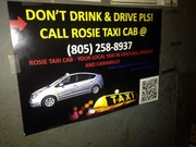 Rosie Taxi Cab – Best suited for Ventura Taxis