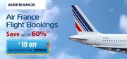 Upto 30% OFF on Air France Reservations